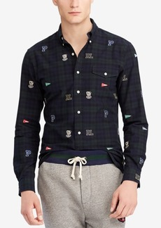 Ralph Lauren Polo Polo Ralph Lauren Men's Embroidered Cotton Oxford Classic Fit Shirt