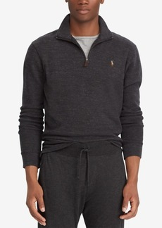 Ralph Lauren Polo Polo Ralph Lauren Men's Estate-Rib Quarter-Zip Pullover, Created for Macy's