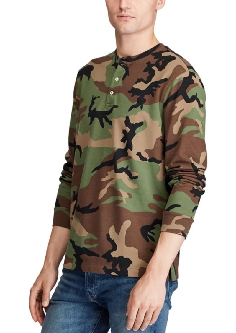 Ralph Lauren Polo Polo Ralph Lauren Men's Featherweight Camouflage Henley Shirt