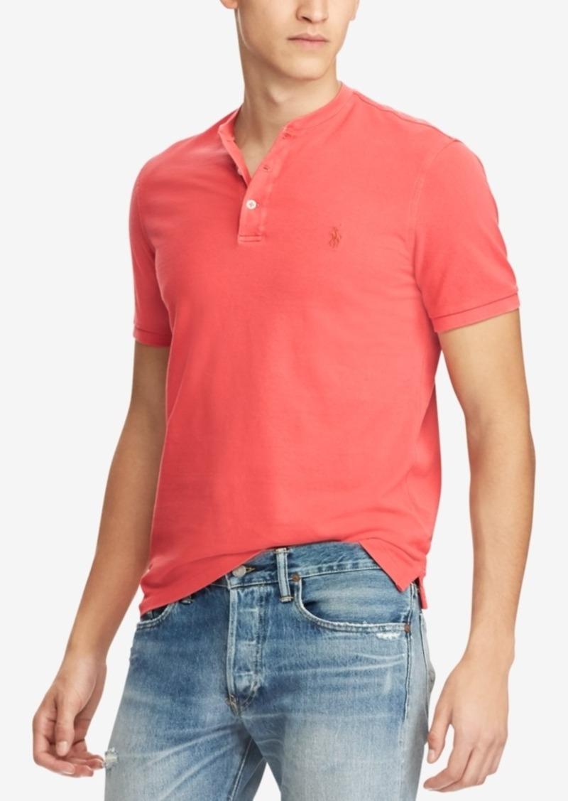 001a03add Ralph Lauren Polo Polo Ralph Lauren Men's Featherweight Mesh Henley T-Shirt