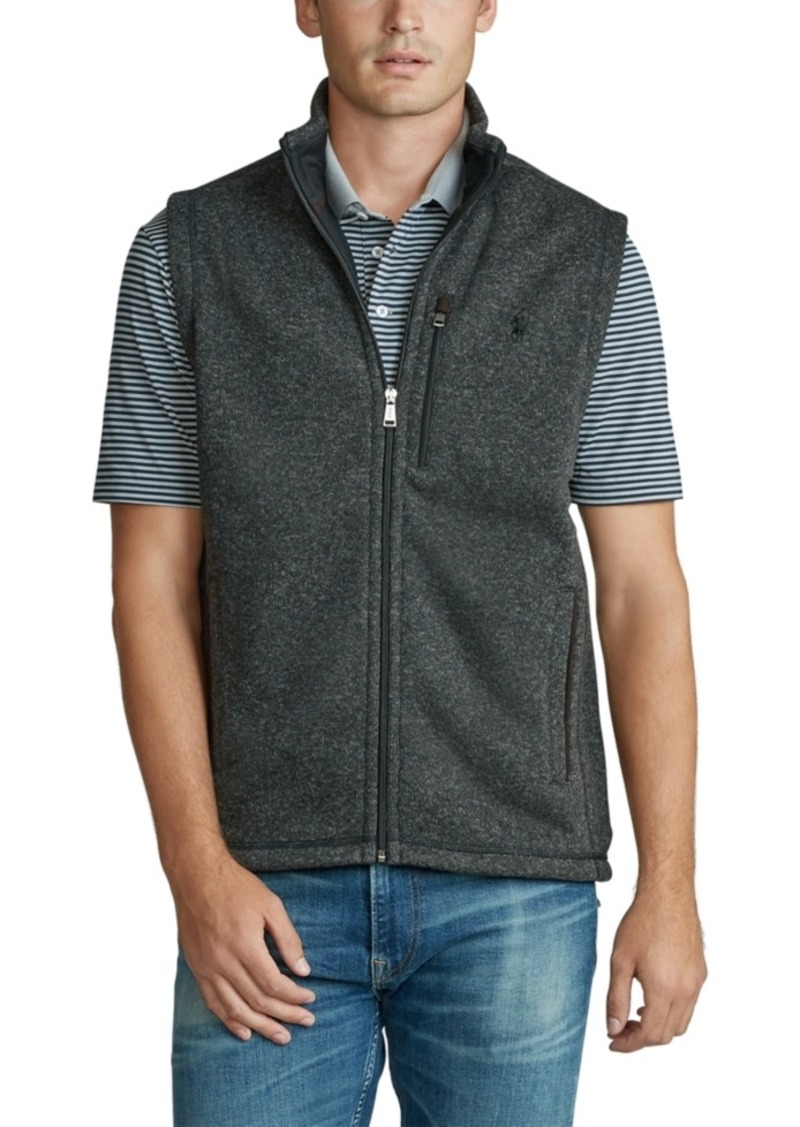 Ralph Lauren Polo Polo Ralph Lauren Men's Fleece Mock-Neck Vest