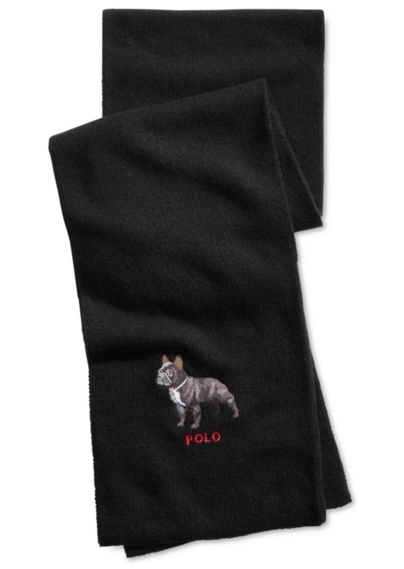 Ralph Lauren Polo Polo Ralph Lauren Men's French Bulldog Scarf