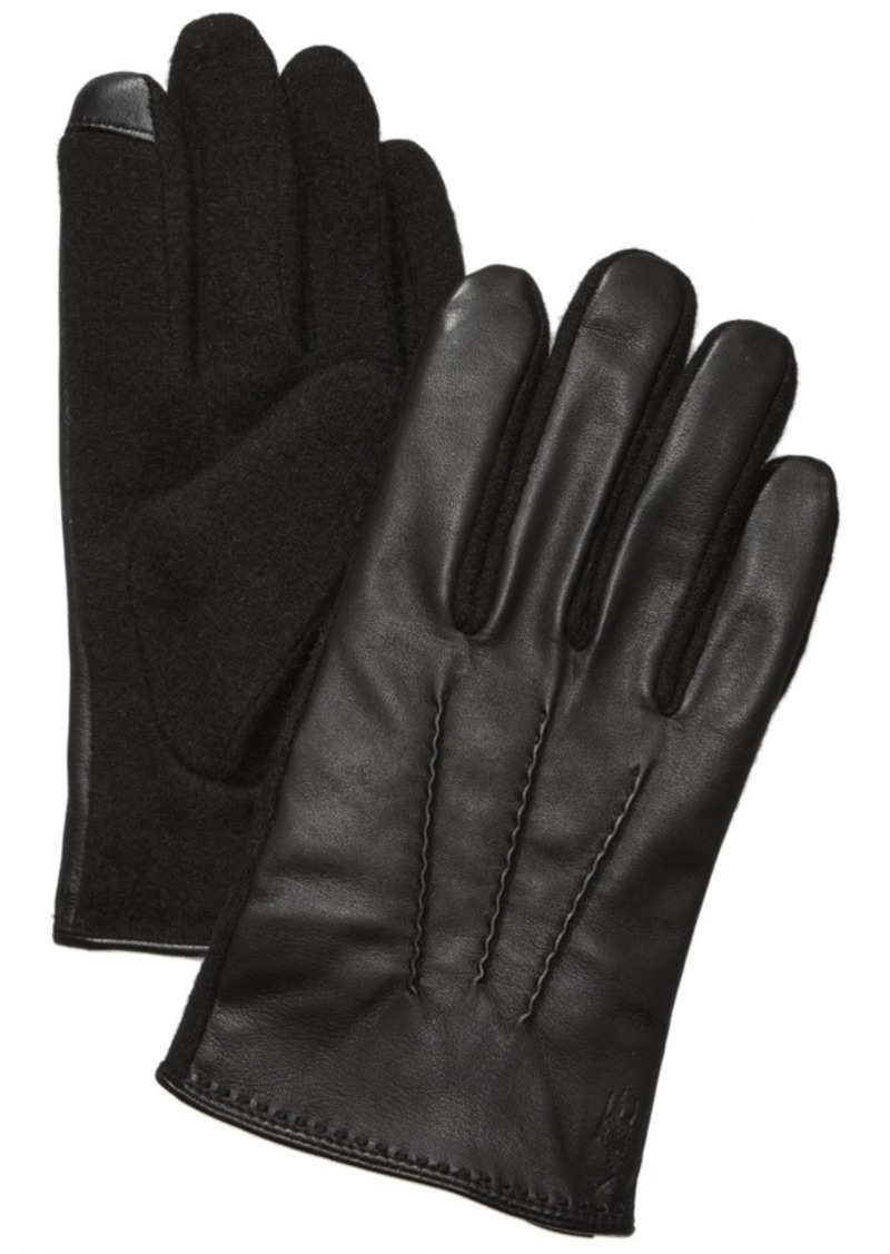 Ralph Lauren Polo Polo Ralph Lauren Men's Hand-Stitched Nappa Leather Touch Gloves