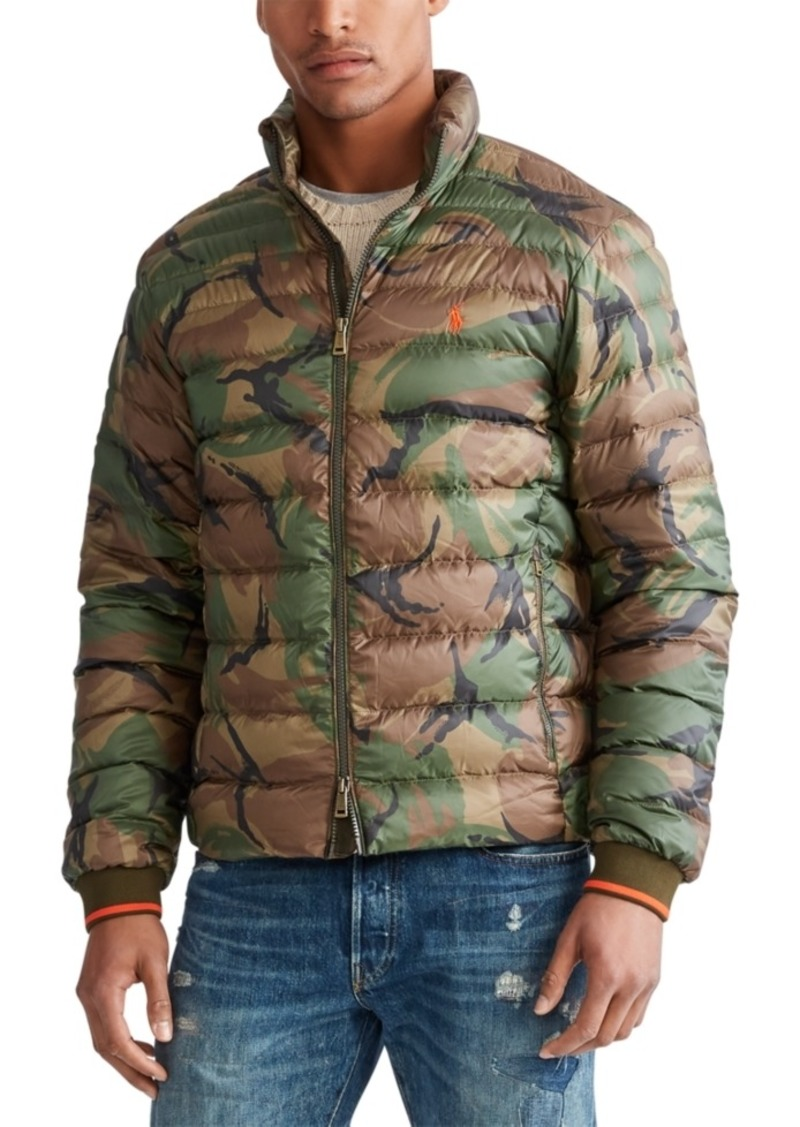 Ralph Lauren Polo Polo Ralph Lauren Men's Holden Down Packable Camo Jacket