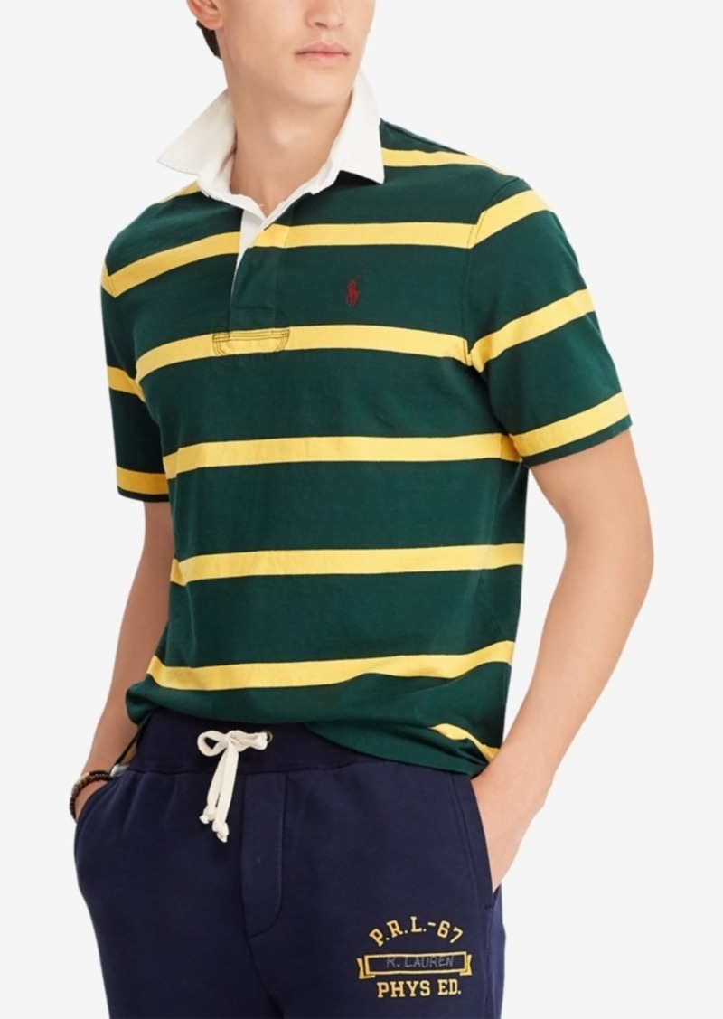 Ralph Lauren Polo Polo Ralph Lauren Men's Iconic Cotton Striped Rugby Shirt