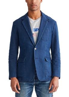 Ralph Lauren Polo Polo Ralph Lauren Men's Indigo Canvas Sport Coat
