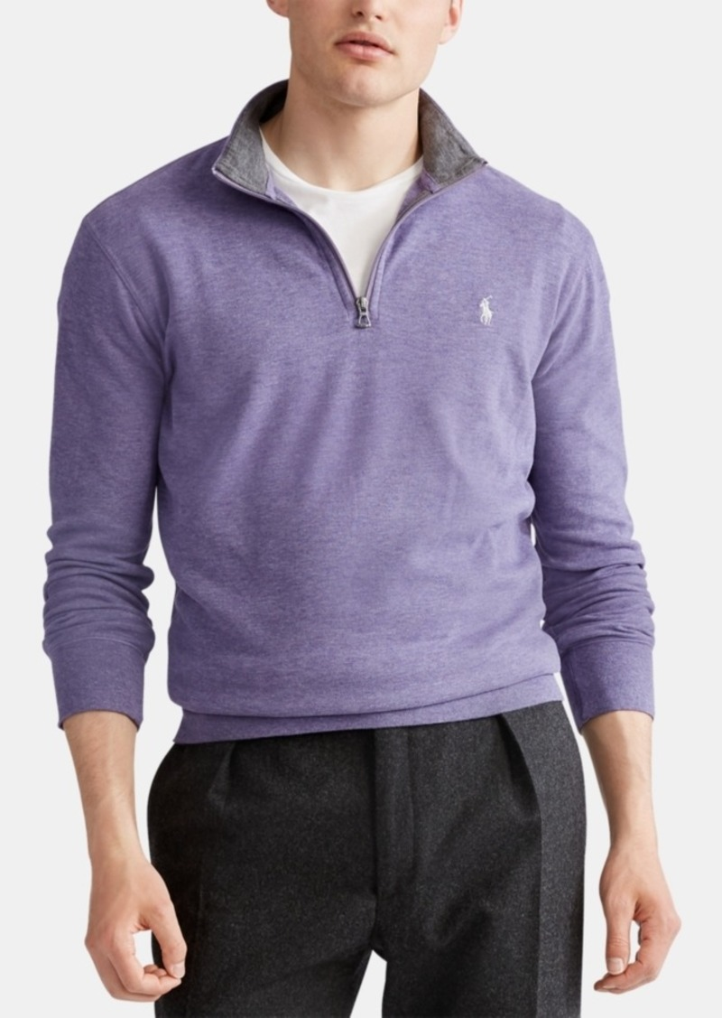 Ralph Lauren Polo Polo Ralph Lauren Men's Jersey Quarter-Zip Pullover