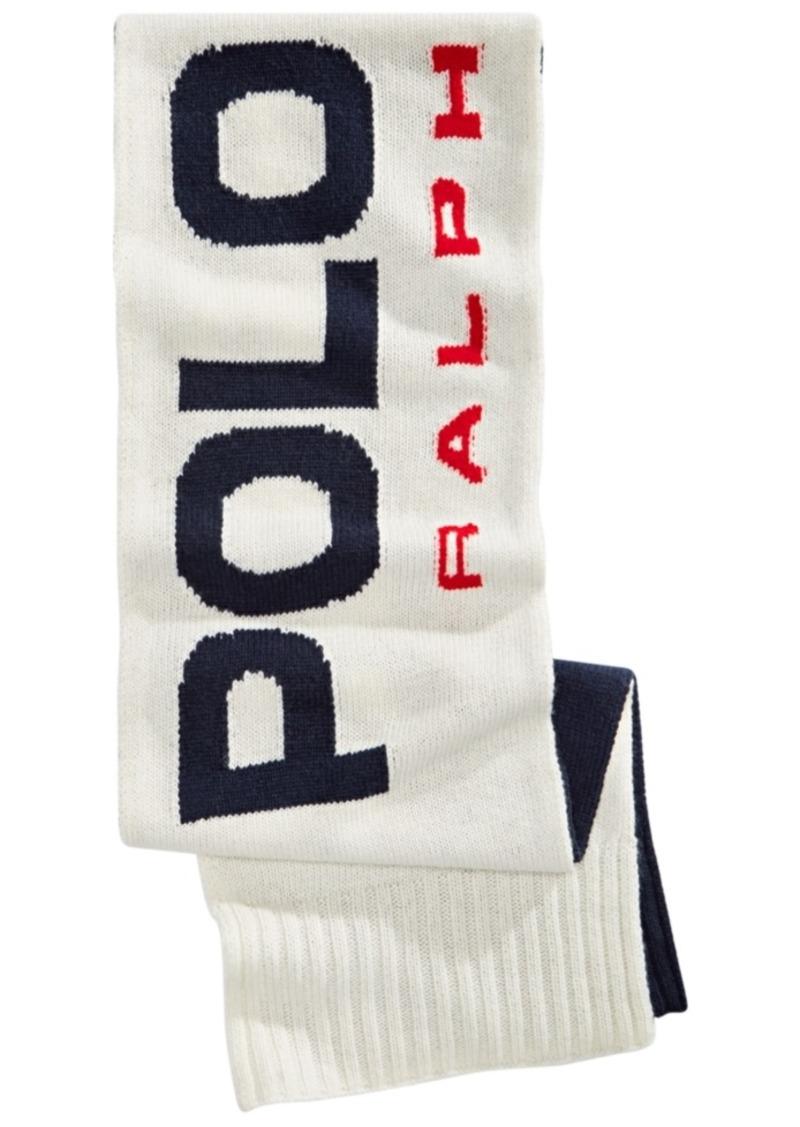 Ralph Lauren Polo Polo Ralph Lauren Men's Logo Knit Scarf