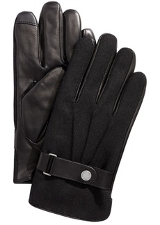 Ralph Lauren Polo Polo Ralph Lauren Men's Melton Hybrid Touch-Screen Gloves
