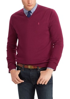 Ralph Lauren Polo Polo Ralph Lauren Men's Merino Wool V-Neck Sweater