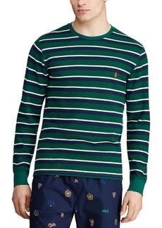 Ralph Lauren Polo Polo Ralph Lauren Men's Multi-Stripe Waffle Pajama Shirt