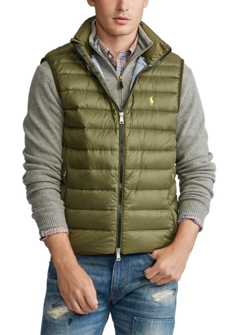 Ralph Lauren Polo Polo Ralph Lauren Men's Packable Down Vest