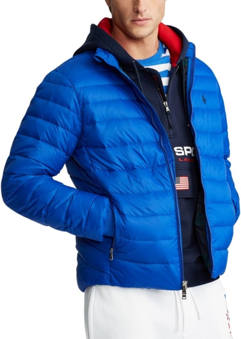 Ralph Lauren Polo Polo Ralph Lauren Men's Packable Quilted Down Jacket