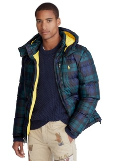Ralph Lauren Polo Polo Ralph Lauren Men's Patterned El Cap Hooded Down Jacket