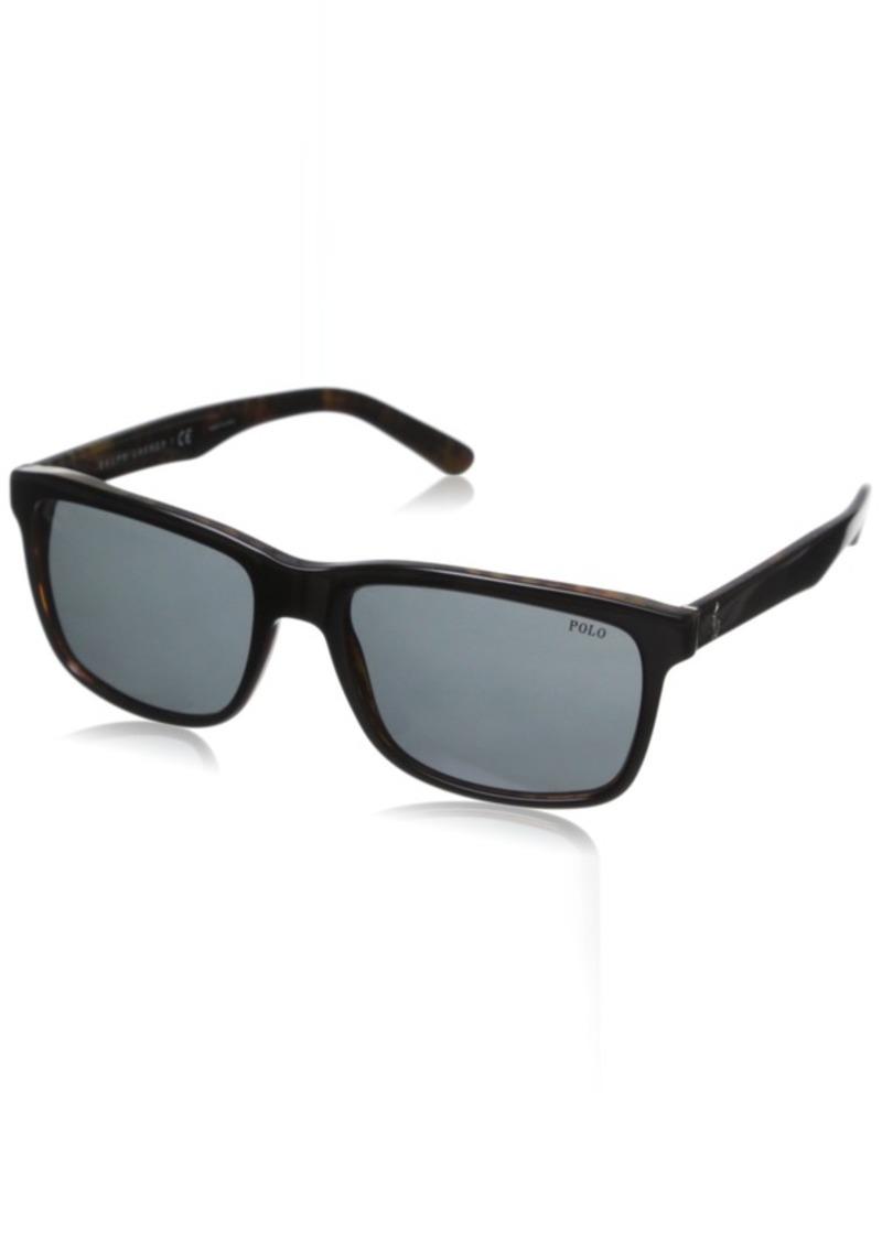 Ralph Lauren Polo Polo Ralph Lauren Men's PH4098 Square Sunglasses  57 mm