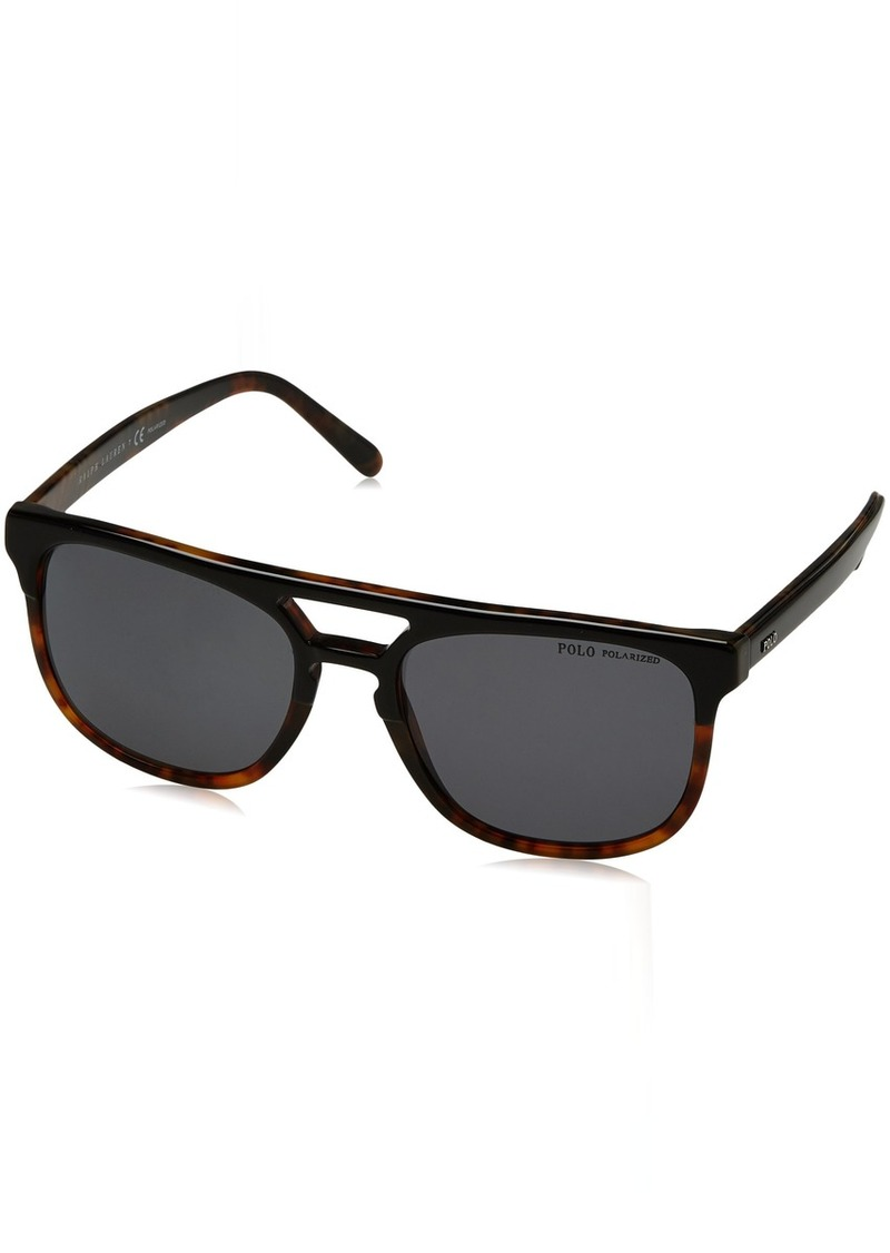 Ralph Lauren Polo Polo Ralph Lauren Men's PH4125 Square Sunglasses  54 mm