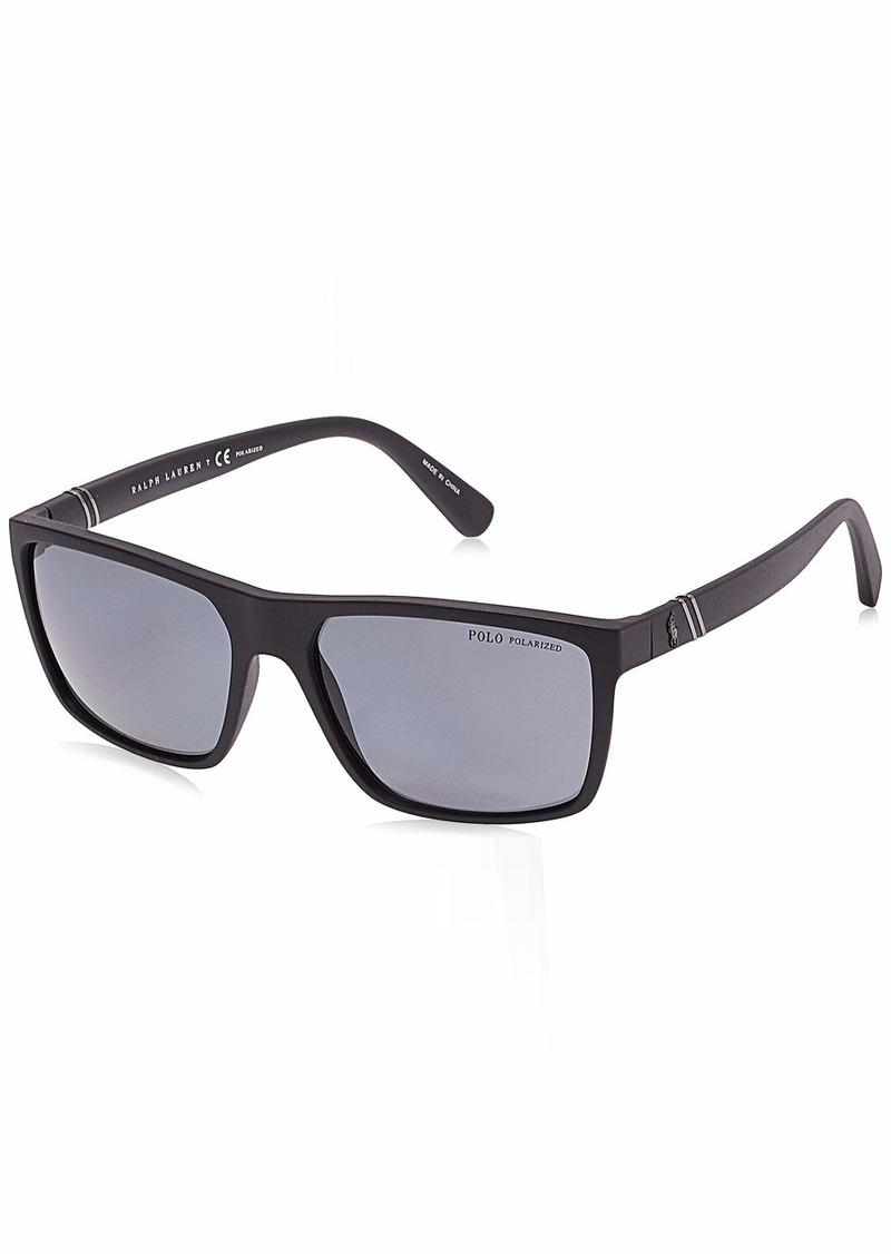 Ralph Lauren Polo Polo Ralph Lauren Men's PH4133 Rectangular Sunglasses  59 mm