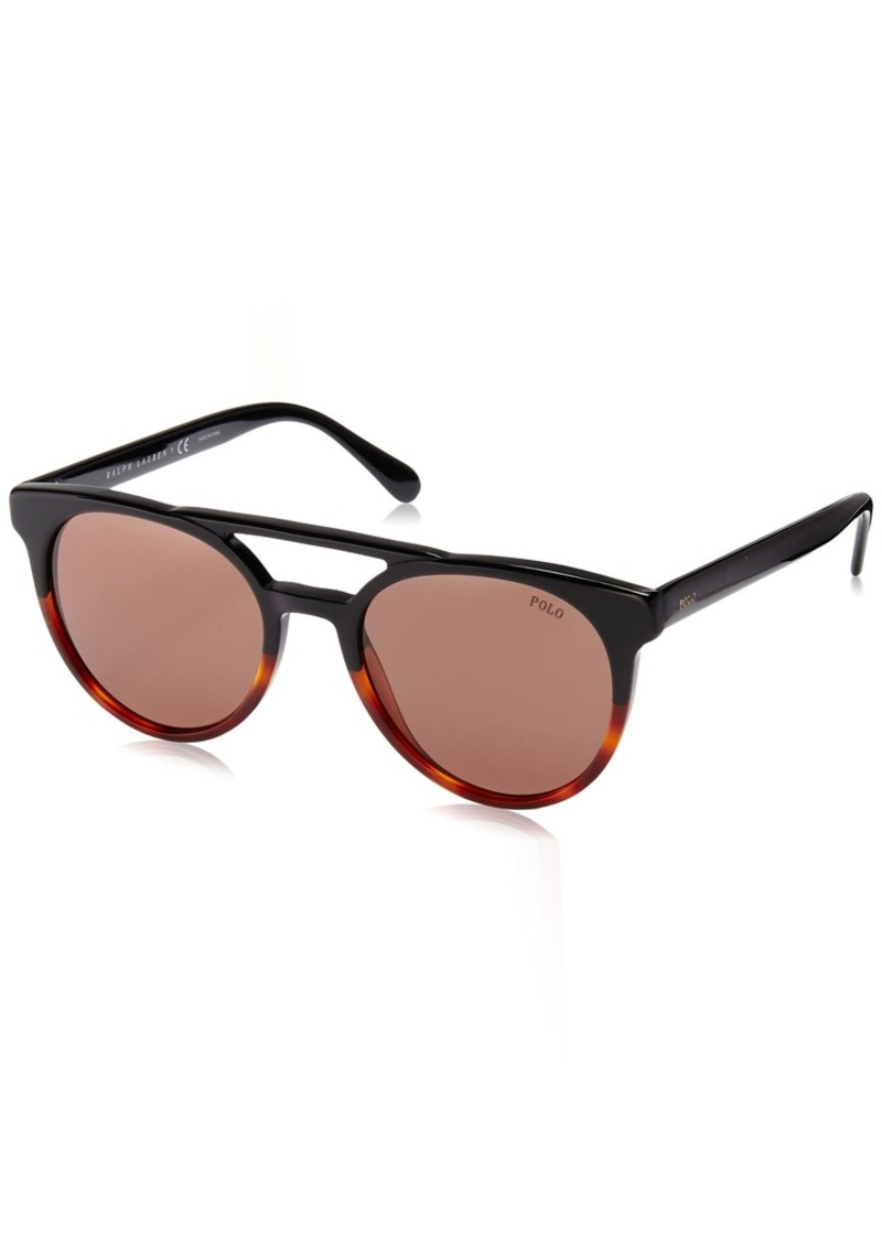 Ralph Lauren Polo Polo Ralph Lauren Men's PH4134 Round Sunglasses  53 mm