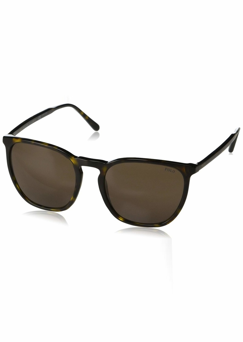 Ralph Lauren Polo Polo Ralph Lauren Men's PH4141 Square Sunglasses  54 mm
