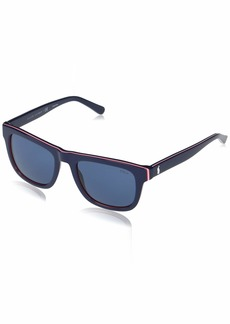 Ralph Lauren Polo Polo Ralph Lauren Men's PH4161 Square Sunglasses
