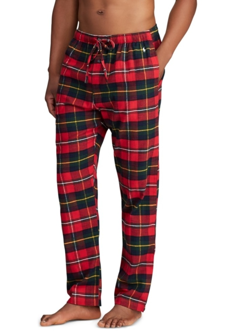 Ralph Lauren Polo Polo Ralph Lauren Men's Plaid Flannel Pajama Pants