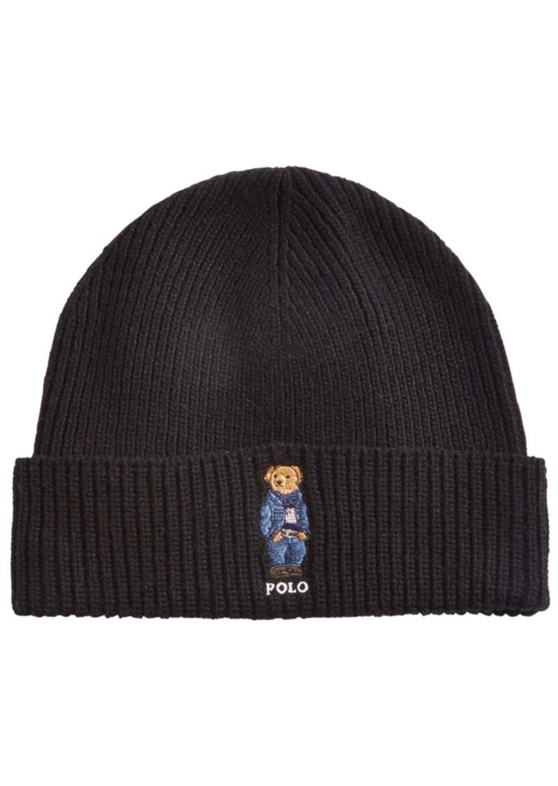 Ralph Lauren Polo Polo Ralph Lauren Men's Polo Bear Blue Jean Jacket Cuffed Hat