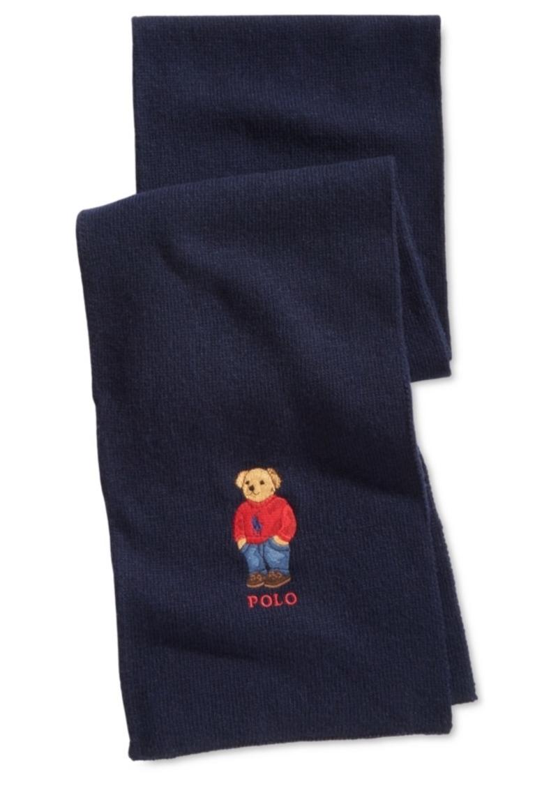 d6131e189bc Ralph Lauren Polo Polo Ralph Lauren Men s Polo Bear Scarf