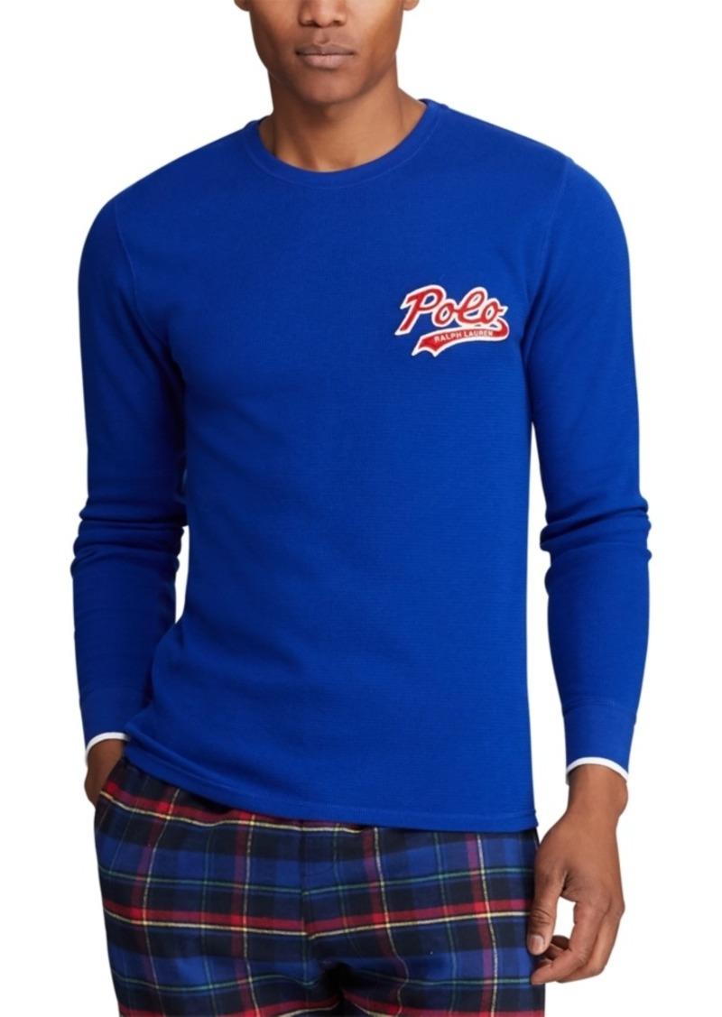 Ralph Lauren Polo Polo Ralph Lauren Men's Polo Script Waffle Crewneck Pajama Shirt