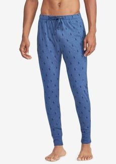 Ralph Lauren Polo Polo Ralph Lauren Men's Pony-Print Cotton Jogger Pants