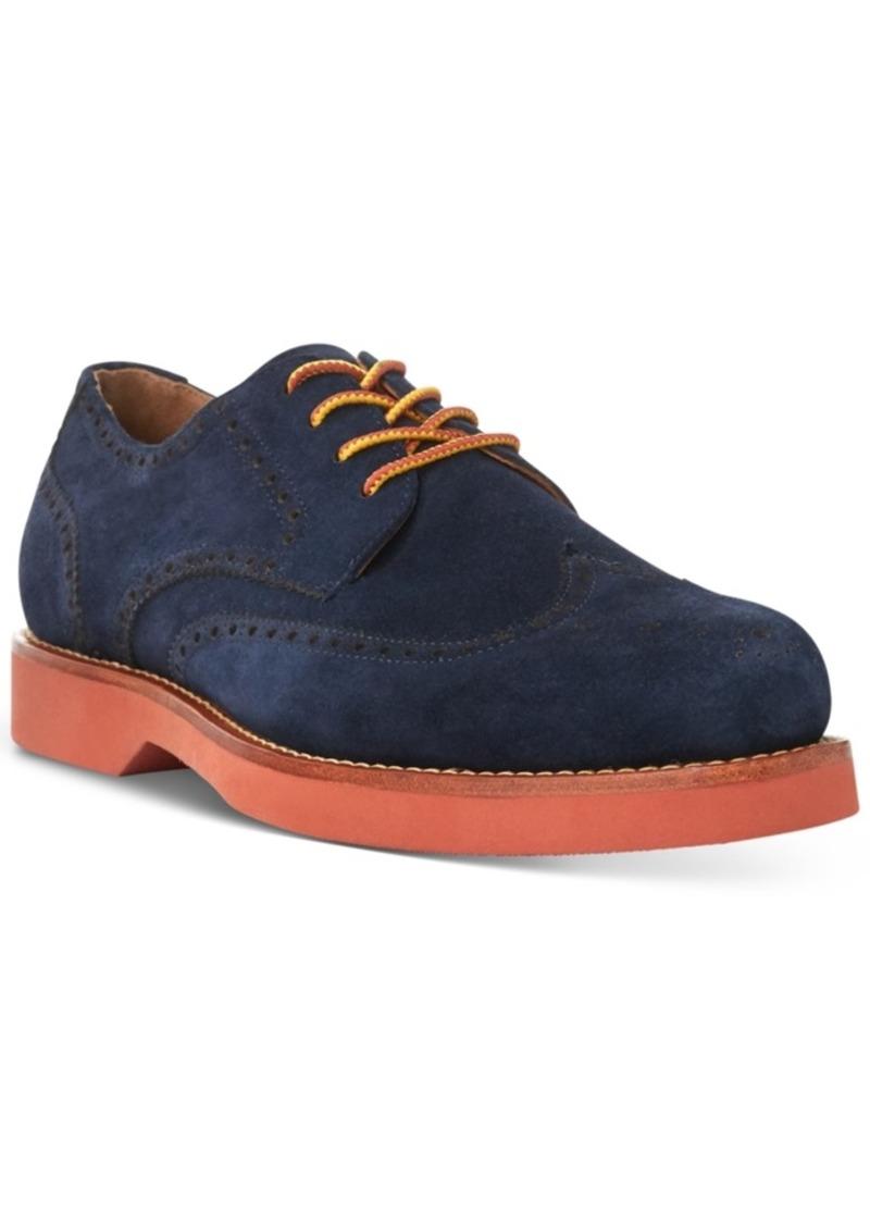 Ralph Lauren Polo Polo Ralph Lauren Men's Rhett Wingtip Oxfords Men's Shoes