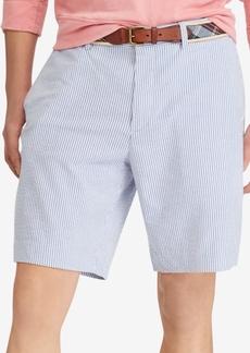 "Ralph Lauren Polo Polo Ralph Lauren Men's Seersucker Stretch Classic Fit 9-1/4"" Shorts"