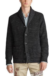 Ralph Lauren Polo Polo Ralph Lauren Men's Shawl Cord Sweater