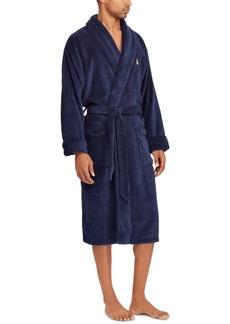 Ralph Lauren Polo Polo Ralph Lauren Men's Sleepwear Soft Cotton Kimono Velour Robe