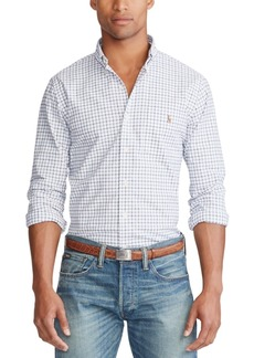 Ralph Lauren Polo Polo Ralph Lauren Men's Slim Fit Plaid Stretch Button-Down Shirt