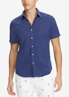 Ralph Lauren Polo Polo Ralph Lauren Men's Slim Fit Twill Shirt