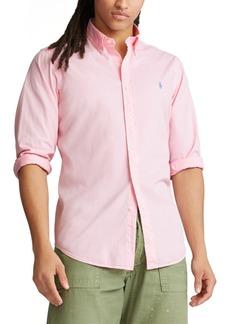 Ralph Lauren Polo Polo Ralph Lauren Men's Slim Fit Garment-Dyed Twill Shirt
