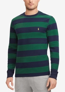 Ralph Lauren Polo Polo Ralph Lauren Men's Striped Waffle-Knit Thermal