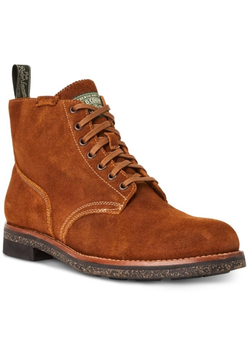 Ralph Lauren Polo Polo Ralph Lauren Men's Suede Army Boot Men's Shoes