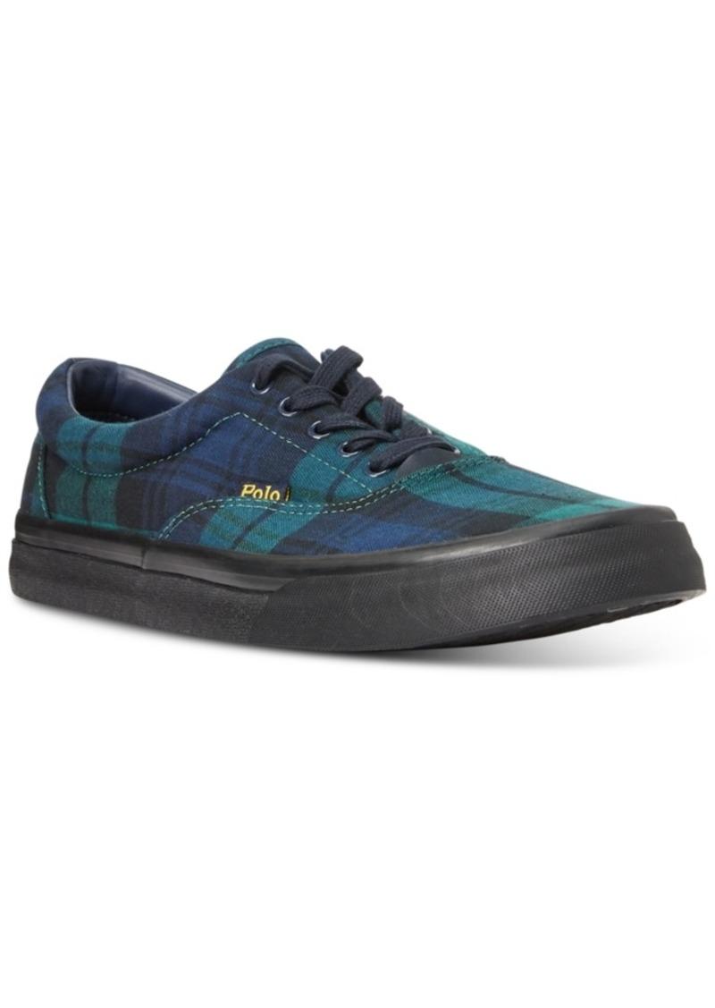 Ralph Lauren Polo Polo Ralph Lauren Men's Tartan Thornton Shoes Men's Shoes