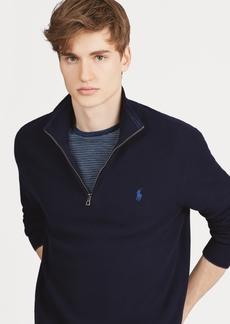 Ralph Lauren Polo Polo Ralph Lauren Men's Textured Quarter-Zip Sweater