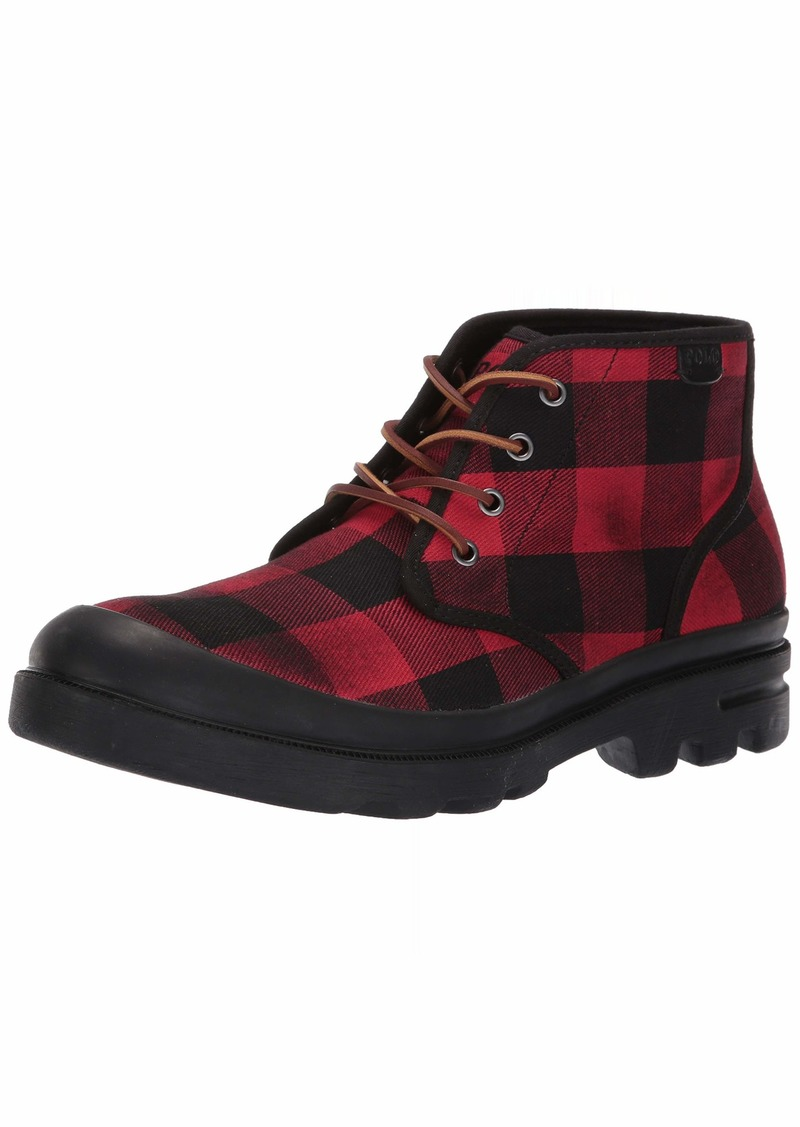 Ralph Lauren Polo Polo Ralph Lauren Men's UMAR Ankle Boot red/Black  D US