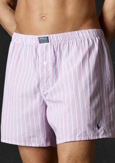 Ralph Lauren Polo Polo Ralph Lauren Men's Underwear, Woven Boxer