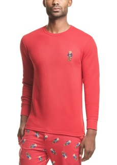Ralph Lauren Polo Polo Ralph Lauren Men's Polo Bear Waffle-Knit Pajama Shirt