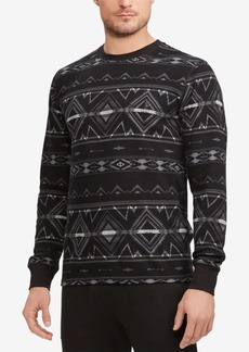 Ralph Lauren Polo Polo Ralph Lauren Men's Beacon Print Waffle-Knit Thermal