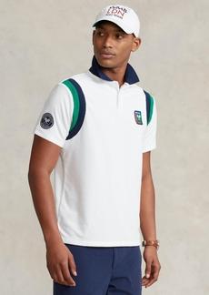 Ralph Lauren Polo Polo Ralph Lauren Men's Wimbledon Custom Slim Terry Polo Shirt