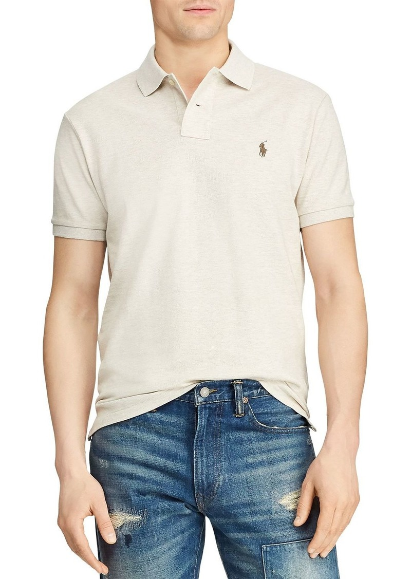 Ralph Lauren Polo Polo Ralph Lauren Mesh Custom Slim Fit Polo Shirt