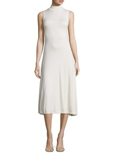 Polo Ralph Lauren Mockneck Midi Dress