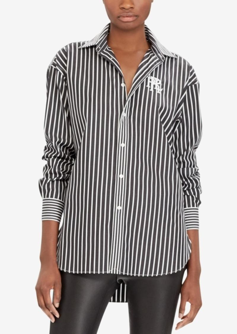 Ralph Lauren Polo Polo Ralph Lauren Monogram Boyfriend Shirt