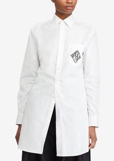 Ralph Lauren: Polo Polo Ralph Lauren Monogram Cotton Button Up