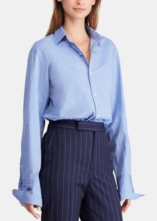 9c8d5265a4 Ralph Lauren  Polo Polo Ralph Lauren Tie-Dye Silk Satin Button-Down ...